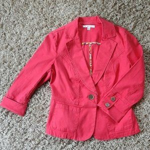 CAbi Coral Toss On Jacket #878